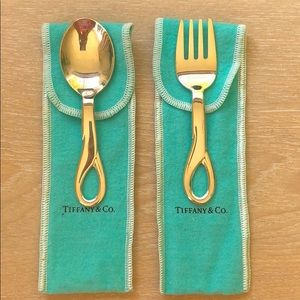 Tiffany & Co Padova Fork and Spoon Baby Set 🥄